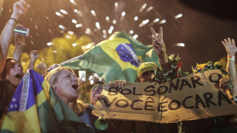 Simpatizantes de Bolsonaro. (EFE)