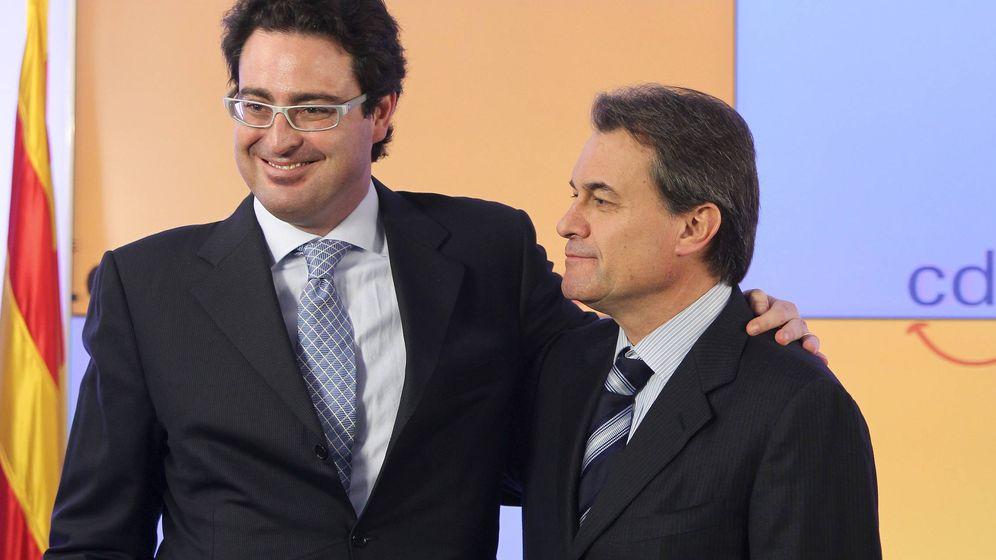 Foto: David Madí y Artur Mas. (EFE)
