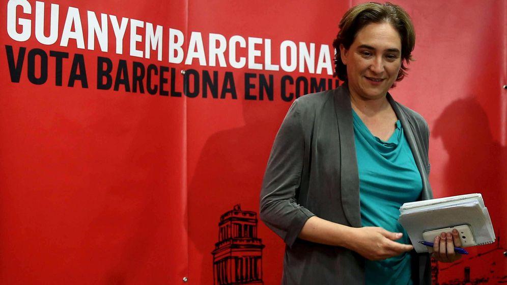 Foto: Ada Colau, un día después de las elecciones del 24-M. (Efe)