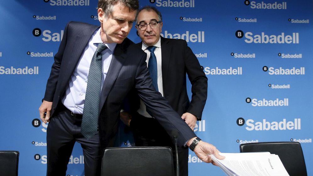 Foto: Jaume Guardiola, consejero delegado de Banco Sabadell (Reuters)