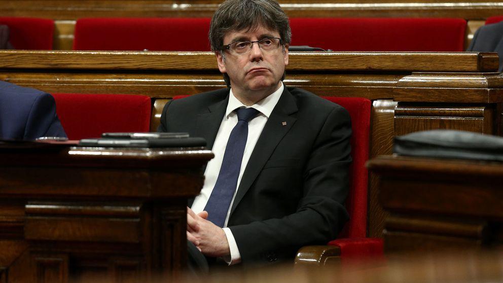 El TC congela los presupuestos catalanes del referéndum y apercibe a Puigdemont