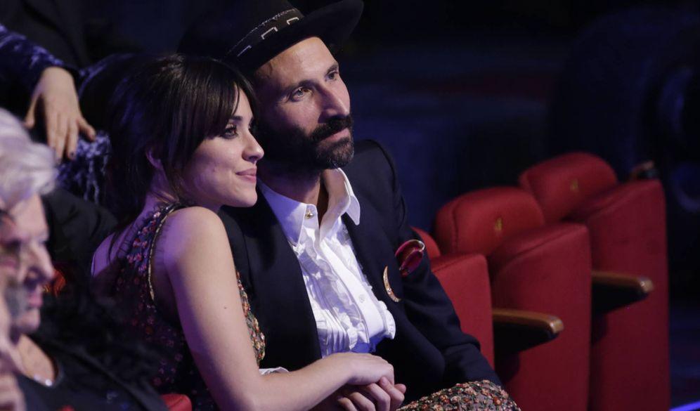 Foto:  Macarena García y Leiva durante los Goya 2018. (Gtres)