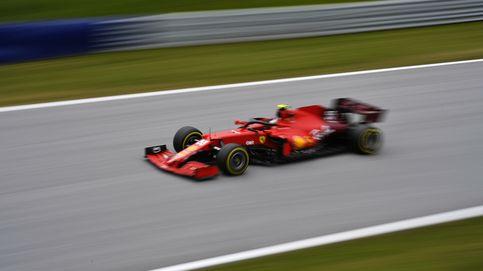 Carlos Sainz y Ferrari se mantienen fieles a su plan que no quiere fuegos artificiales