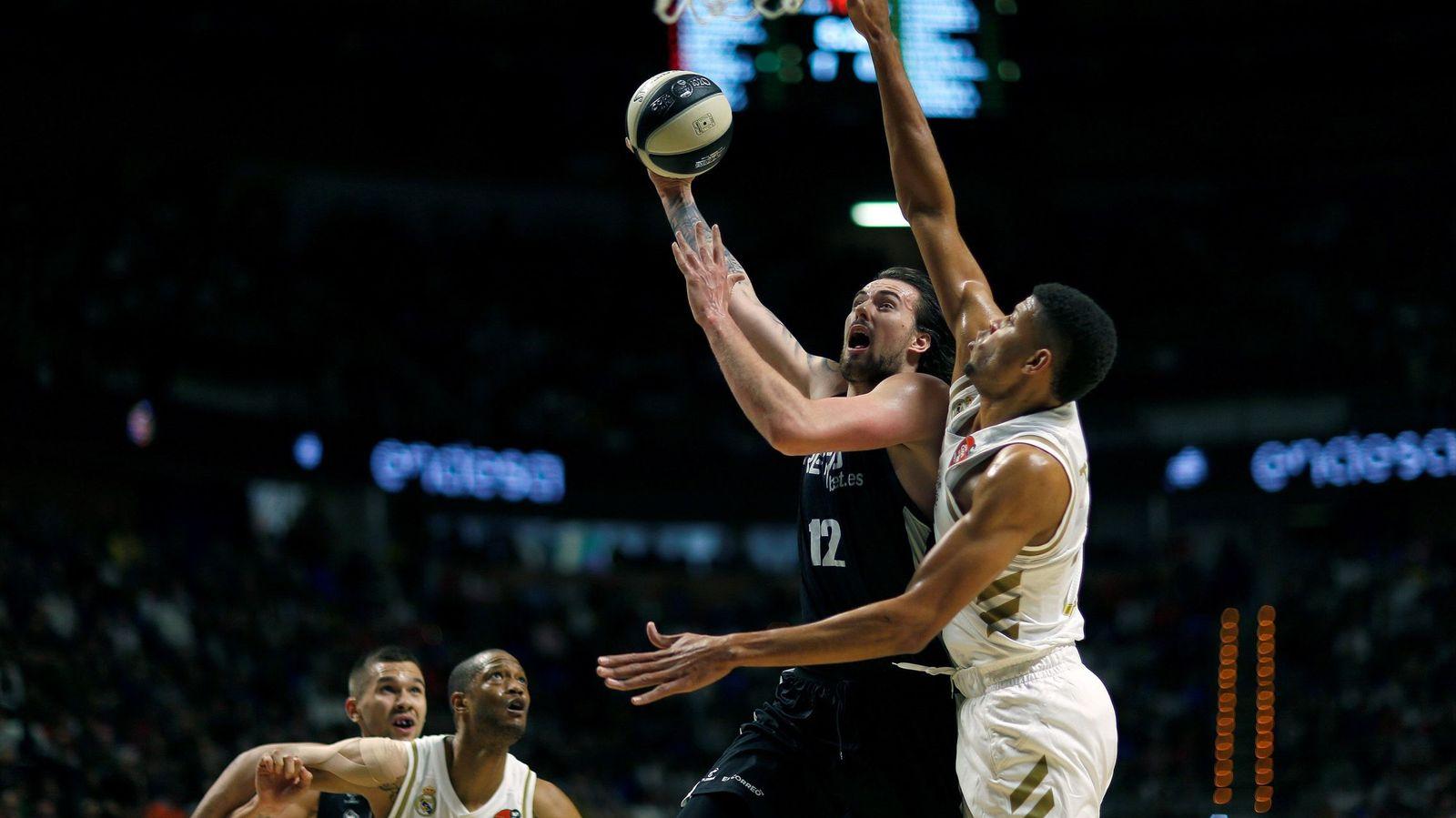 Foto: Real madrid - bilbao basket