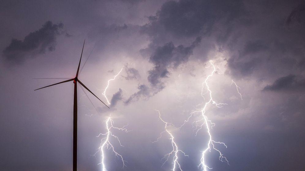 Foto: Molino de viento (Efe)