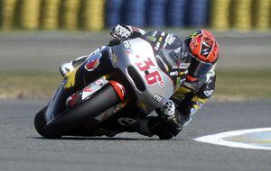 Tito Rabat acaba tercero en Le Mans y Kallio le recorta nueve puntos en el Mundial