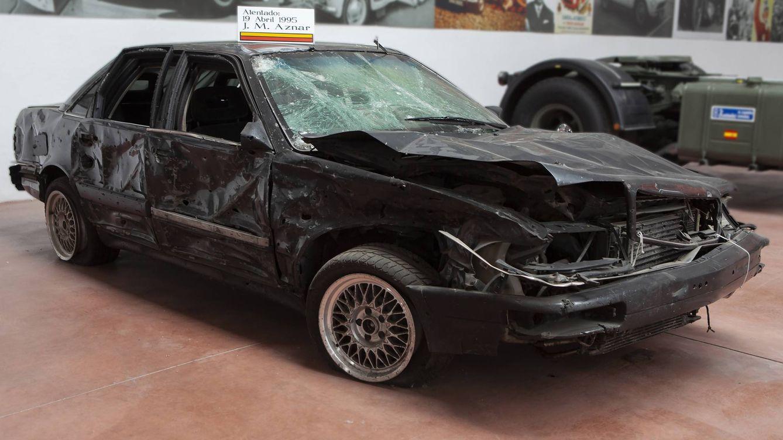 Sale a subasta el Audi A8 del atentado de José María Aznar en 1995