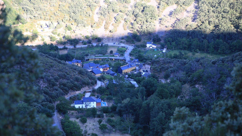 Vista general del pueblo de San Facundo, encuadrado en el corazón del Bierzo. (EC)
