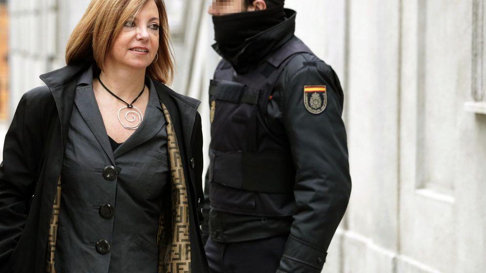 Foto: La exconsejera de Gobernación, Administraciones Públicas y Vivienda Meritxell Borràs. (EFE)