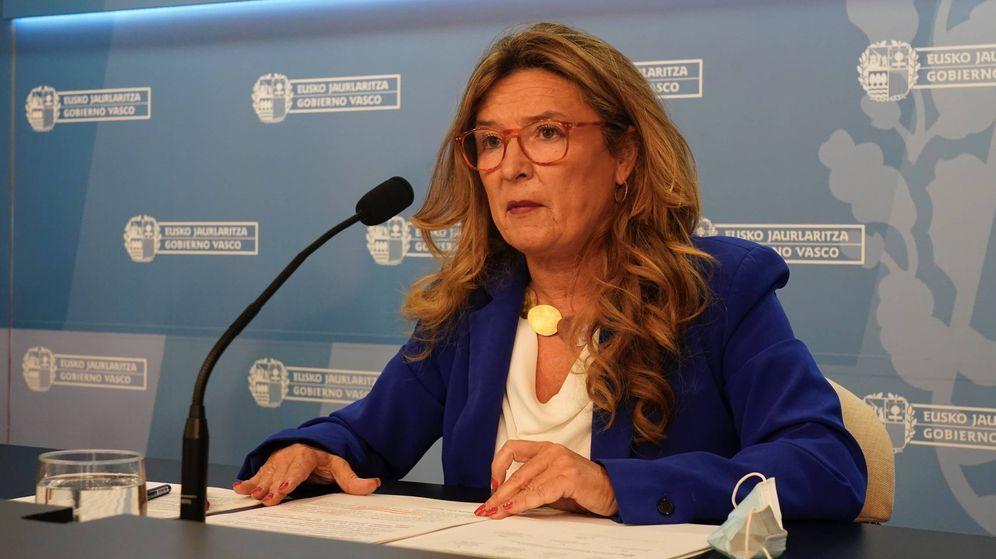 Foto: La nueva consejera vasca de Salud, Gotzone Sagardui. (Irekia)