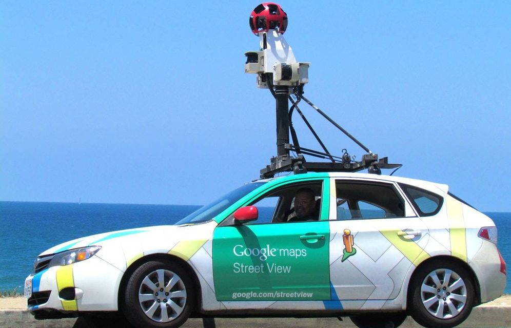 Foto: Coche de Google Steet View. (Unsplash)