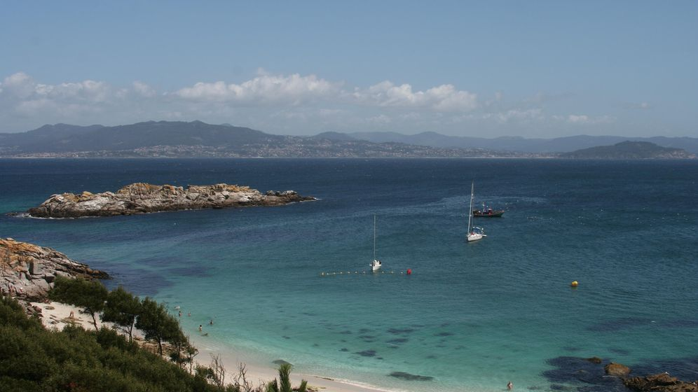 Foto: Islas Cíes, Vigo.