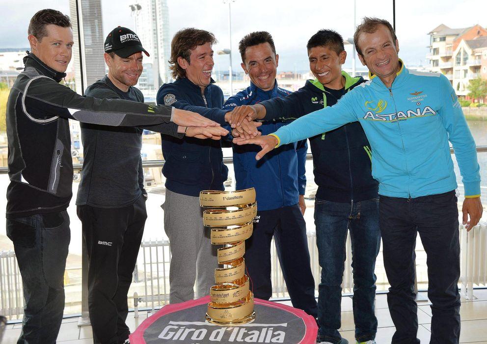 Foto: Purito Rodriguez es el español con más opciones en el Giro (Efe).
