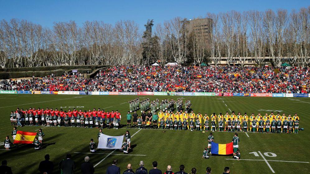 Foto: El Central de la Complutense acogerá la final de la Copa del Rey de rugby. (EFE)