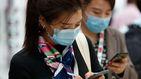Largas colas en China para comprar mascarillas