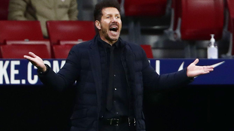 Simeone es una olla a presión: la exigencia de ganar la Liga por los fallos de Madrid y Barça