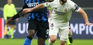 Post de La desesperación de Lukaku: Nacho y Varane superan la dependencia de Ramos