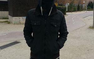 """Luis, antisistema del 22-M: """"La Policía busca que haya un muerto"""
