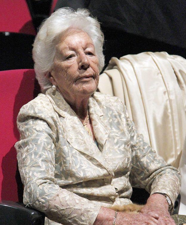 Foto: La abuela de la Reina Letizia en una imagen de archivo (Gtres)