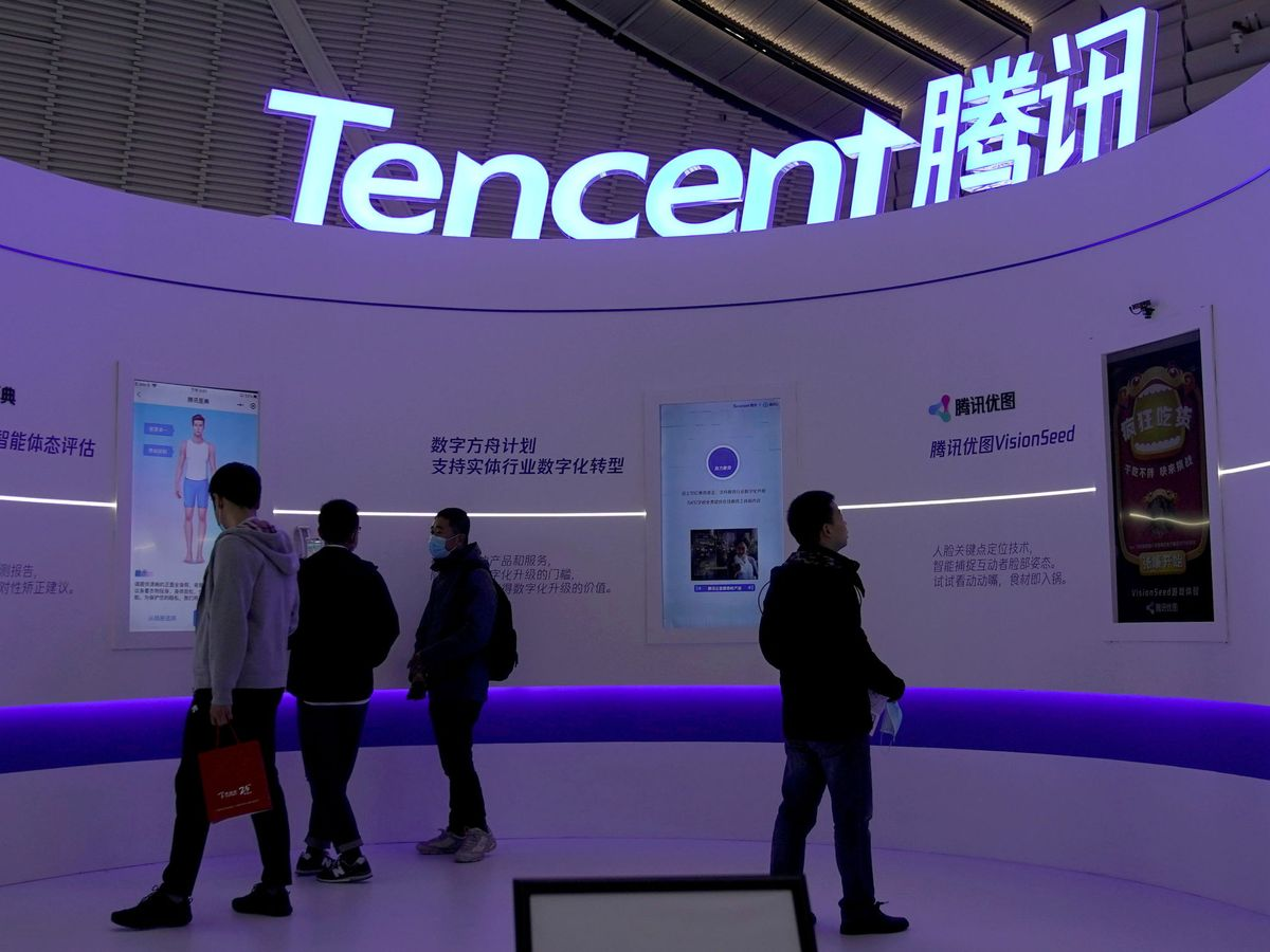 Foto: El logo de Tencent. (Reuters)