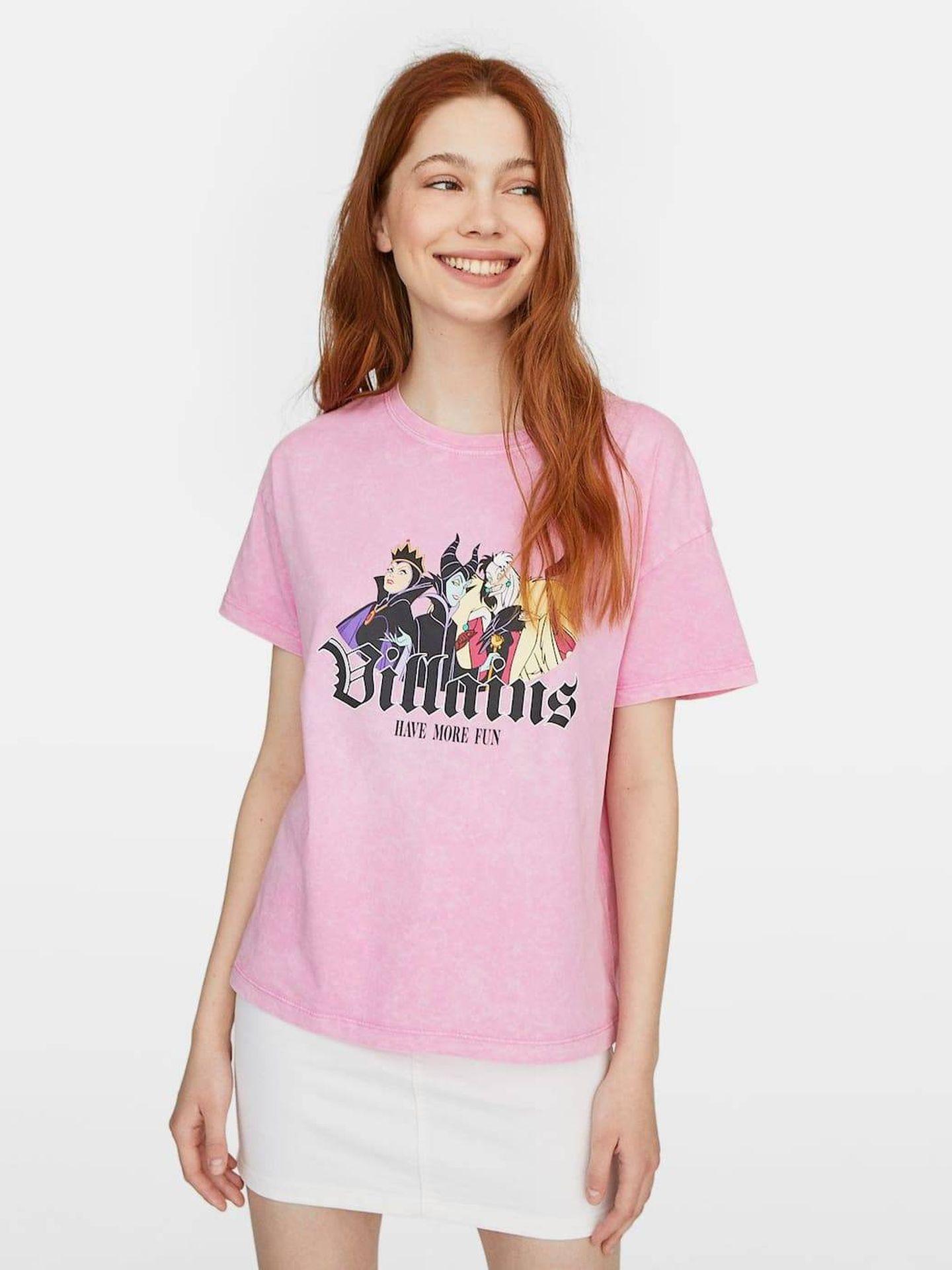 Camiseta de las villanas de Disney.  (Cortesía)