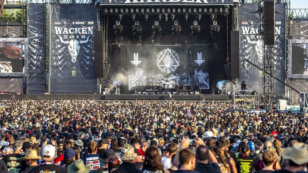 Foto: Festival de música Wacken Open Air 2018