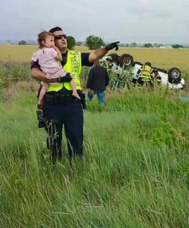 Foto: Imagen del accidente (Facebook)