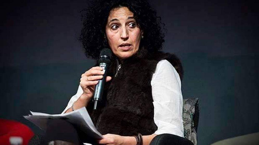 Foto: La escritora feminista Zoubida Boughaba.