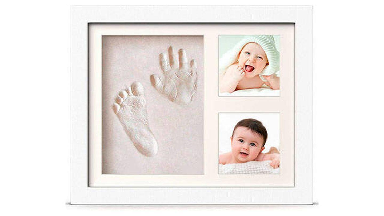 Marco para manos y huellas de bebé para niño y niña de PewinGo