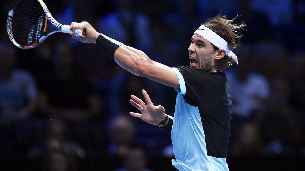 Foto: Rafael Nadal en su partido de este miércoles frente a Andy Murray.