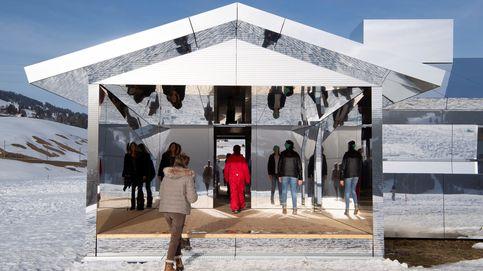 Instalación artísitica en Gstaad