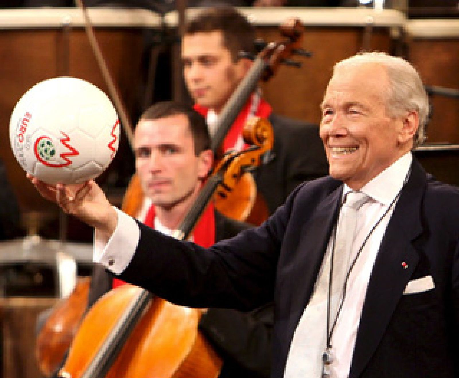 Foto: La Filarmónica de Viena da la bienvenida a 2008 con un concierto centrado en Francia y la Eurocopa