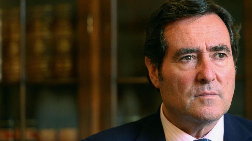 Foto: El presidente de la patronal CEOE, Antonio Garamendi. (EFE)