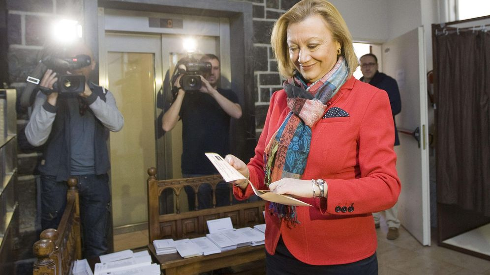 Foto: La candidata del PP al Gobierno de Aragón, Luisa Fernanda Rudi (EFE)