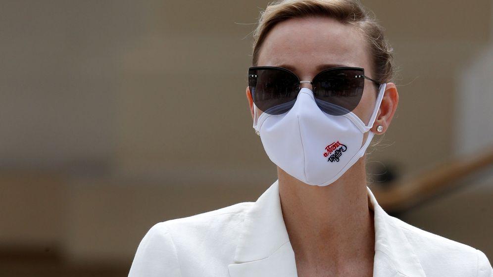 Foto: Charlène de Mónaco, este martes. (Reuters)