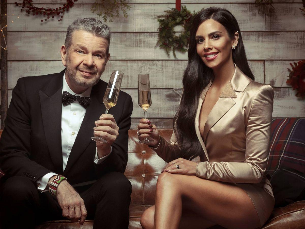 Foto: Alberto Chicote y Cristina Pedroche despiden el 2020 en Antena 3. (Atresmedia Televisión)