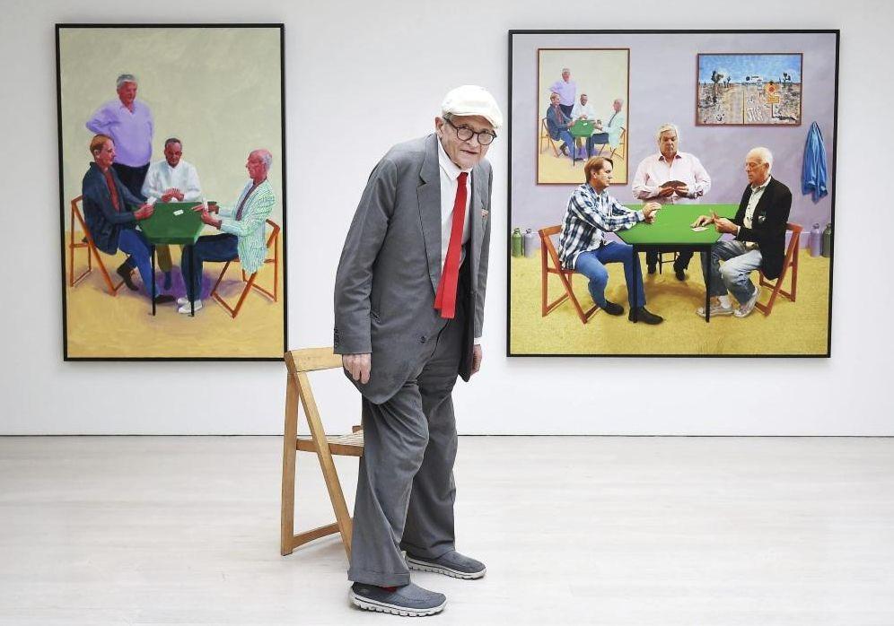 Foto: David Hockney, de quien su marchante dice que es alguien siempre dispuesto a sorprenderte buscando nuevas vías de creación. (REUTERS)