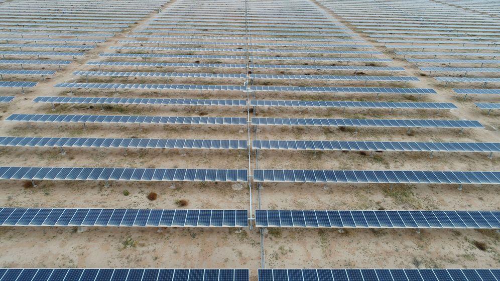 Foto: Planta fotovoltaica de Iberdrola en México. (EFE)