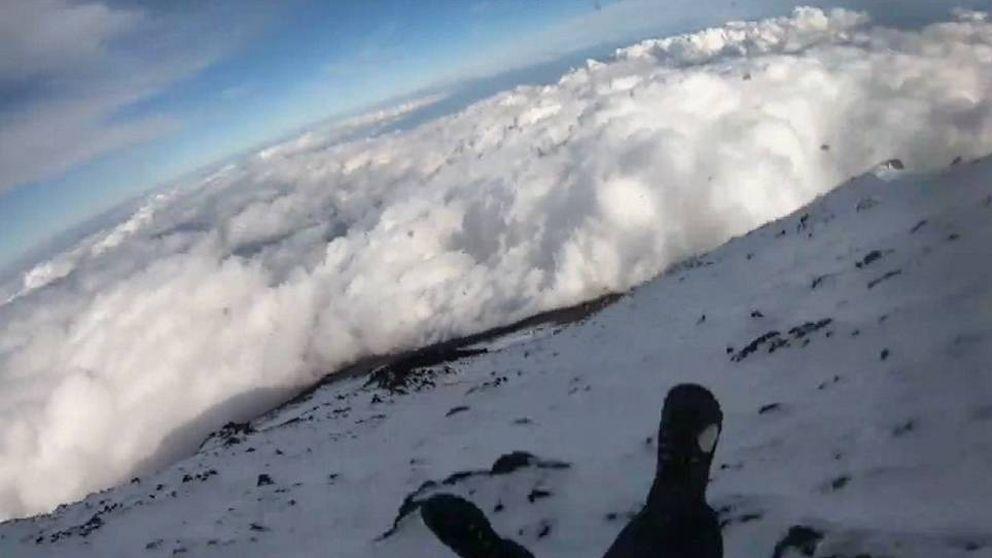 Misterio en el Monte Fuji: un escalador desaparece tras grabar su caída en directo