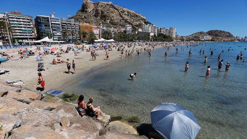 Muere ahogado un hombre de 38 años en la playa del Postiguet de Alicante
