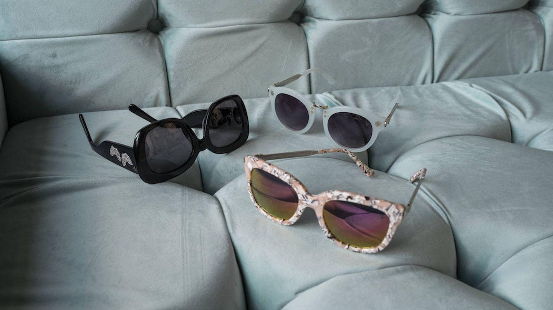 Las gafas de Valeria Mazza para Starlite Shop. (Foto: Daniel Sánchez Alonso)