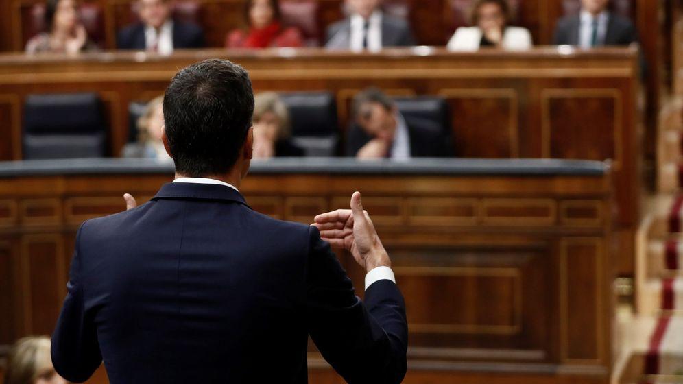 Foto: Pedro Sánchez en la sesión de control del Gobierno. (EFE)