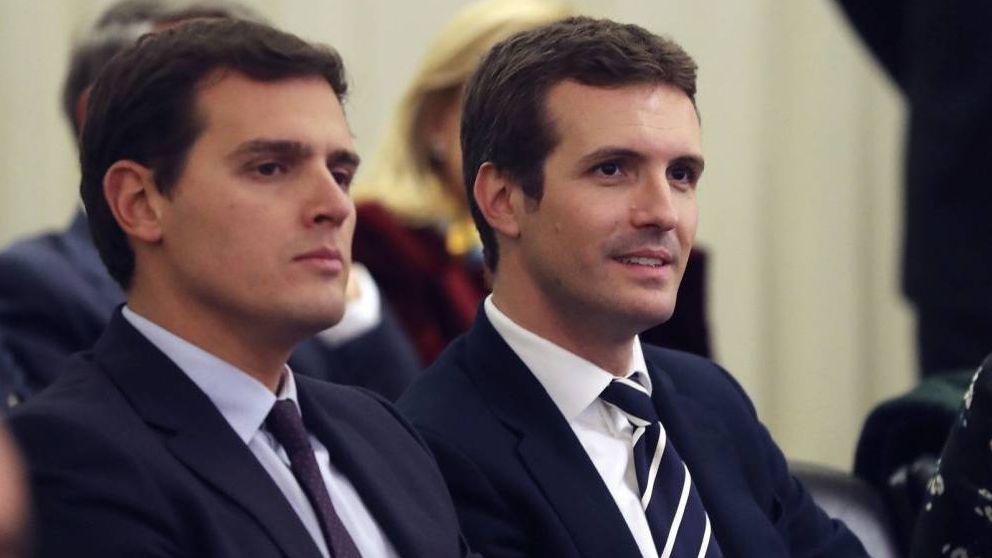 Los votantes de Cs prefieren un pacto con el PP a uno con el PSOE de Pedro Sánchez