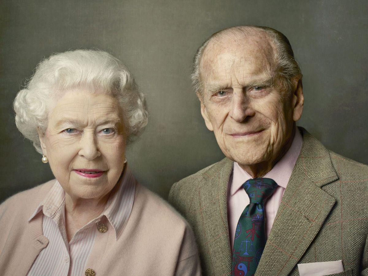 Foto: Isabel II y el duque de Edimburgo. (EFE)