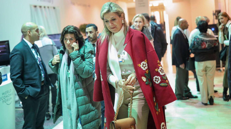 Máxima en Davos. (Getty)