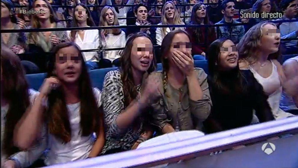 La hija de Belén Esteban se cuela en 'El hormiguero' y llora por Justin Bieber