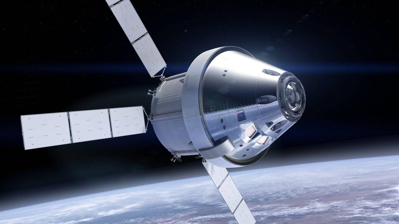 El módulo Orion, tal y como estaba diseñado (NASA)