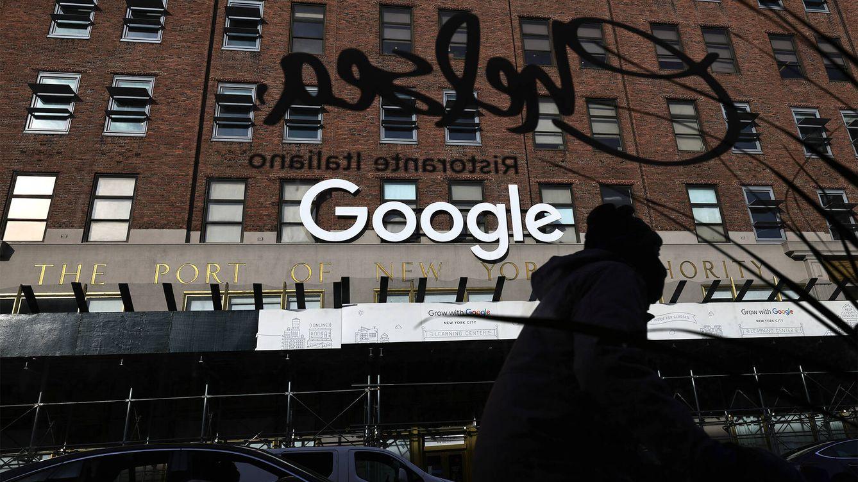 Foto: La sede de Google en Manhattan, Nueva York. (Getty)