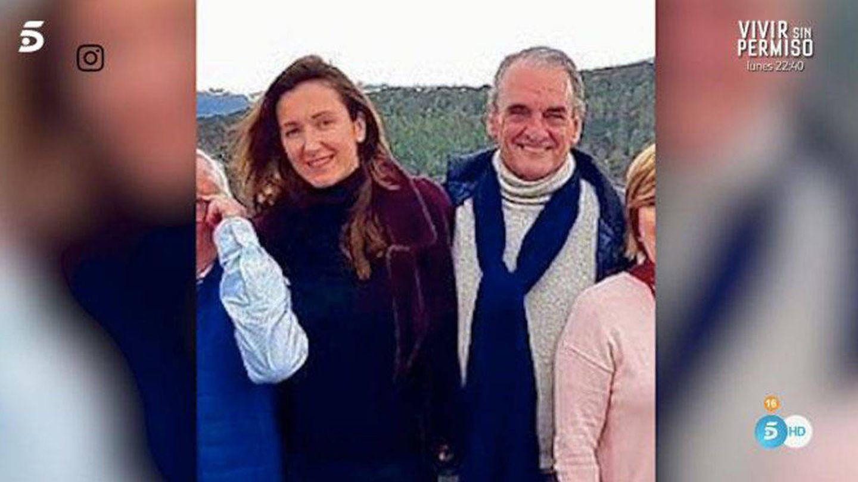 Mario Conde y Pilar Marín, en una imagen de Mediaset.