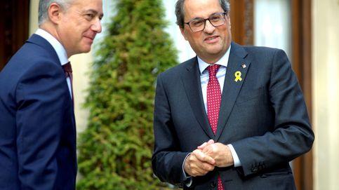 Torra niega el plan de Urkullu de aprovechar la mayoría en Madrid como vía del 'procés'